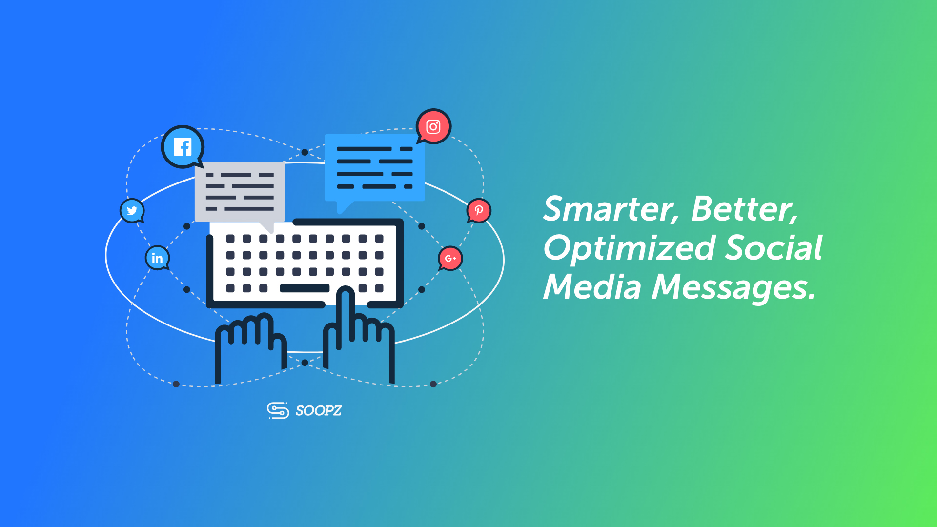 Soopz Social Media Messaging